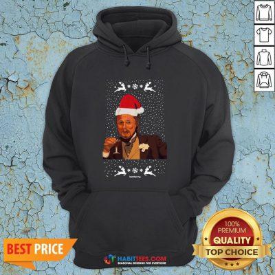 Premium Leonardo Dicaprio Memes Christmas Hoodie - Design By Habittees.com