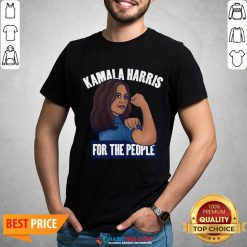 Premium Nice Kamala Harris For The People Biden Harris 2020 Shirt - Design By Habittees.com