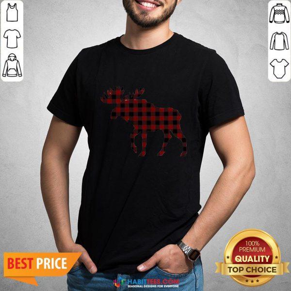 Premium Plaid Reindeer 2020 Shirt - Design By Habittees.com