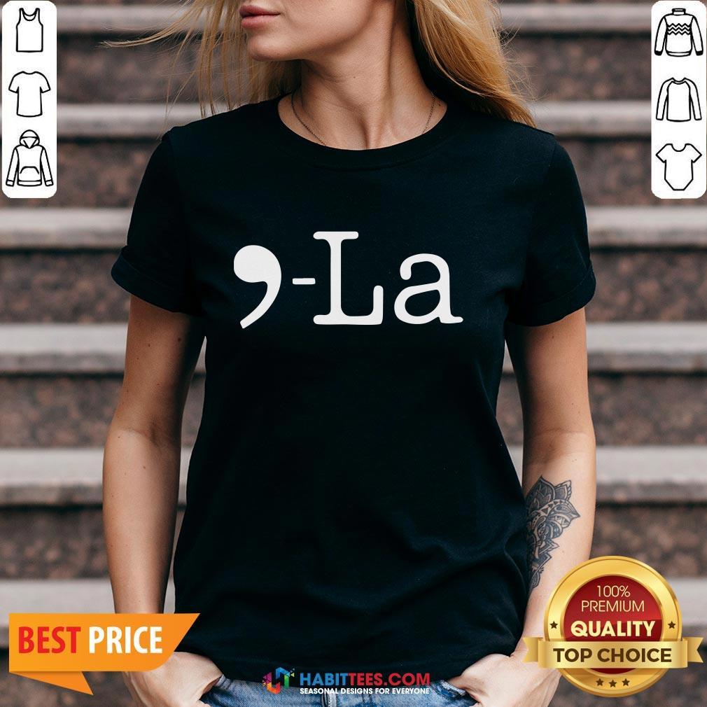 Pro Comma + La Kamala Harris Biden Harris 2020 V-neck - Design By Habittees.com