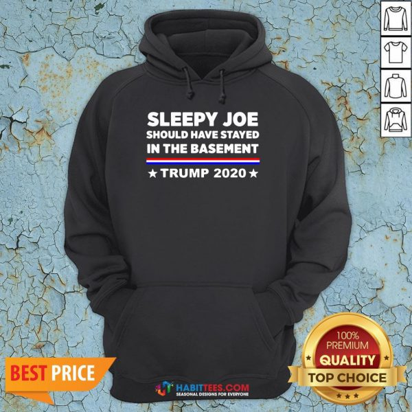 Sleepy Joe Should Have Stayed In Time Bastment Trump 2020 Election Hoodie