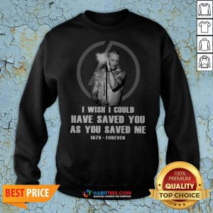 So Chester Bennington I Wish I Could Have Saved You As You Saved Me 1876 Forever Sweatshirt - Design By Habittees.com