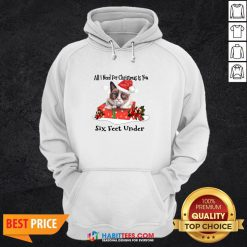 Super Cat All I Need For Christmas Is You Six Feet Under Hoodie - Design By Habittees.com