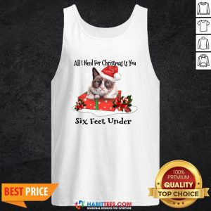 Super Cat All I Need For Christmas Is You Six Feet Under Tank Top - Design By Habittees.com
