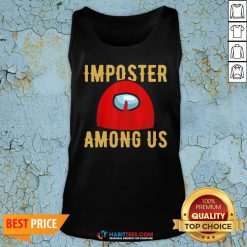 Super Red Imposter Among Us Tank Top - Design By Habittees.com