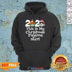 Top 2020 This Is My Christmas Pajama Poop Santa Clause Face Mask Xmas Hoodie