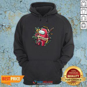 Top Among Us Impostor Die Hoodie - Design By Habittees.com
