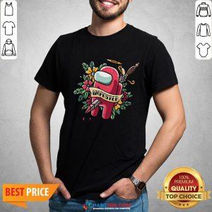 Top Among Us Impostor Die Shirt- Design By Habittees.com
