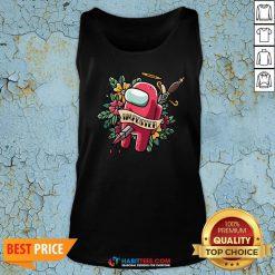 Top Among Us Impostor Die Tank Top - Design By Habittees.com