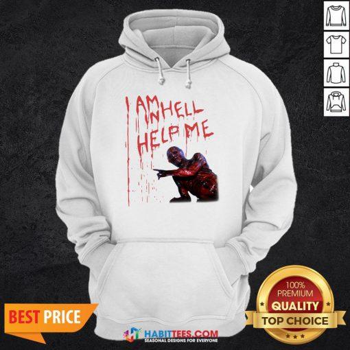 Top Hellraiser I Am Hell Help Me Hoodie