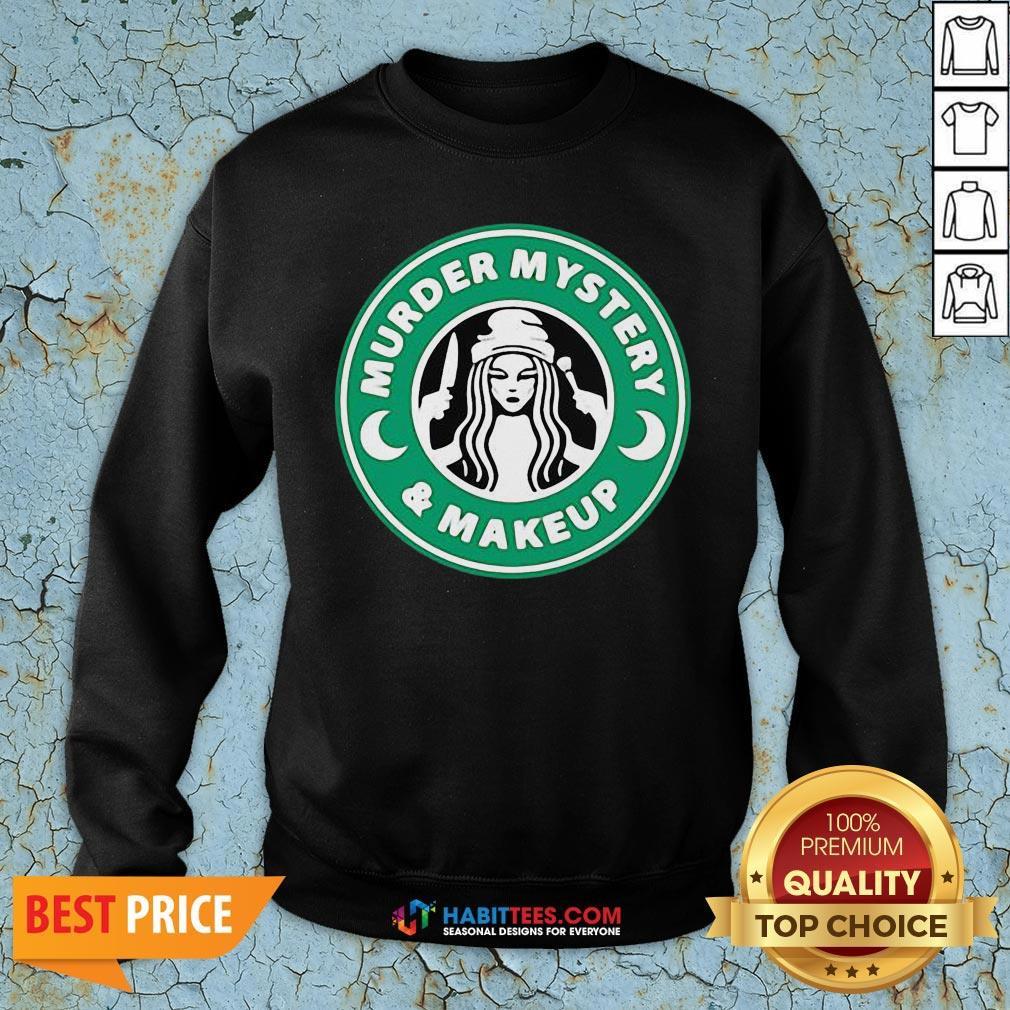 Top Hurder Mystery And Makeup Logo Sweatshirt - Design By Habittees.com