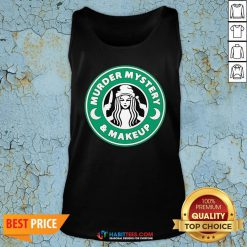 Top Hurder Mystery And Makeup Logo Tank Top - Design By Habittees.com