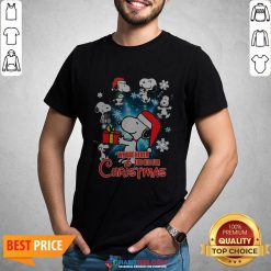 - Design By Habittees.comTop Snoopy We Are Never Too Old For Christmas Shirt