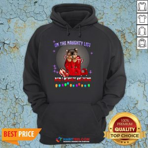 Top Yorkshire On The Naughty List And I Regret Nothing Christmas Hoodie