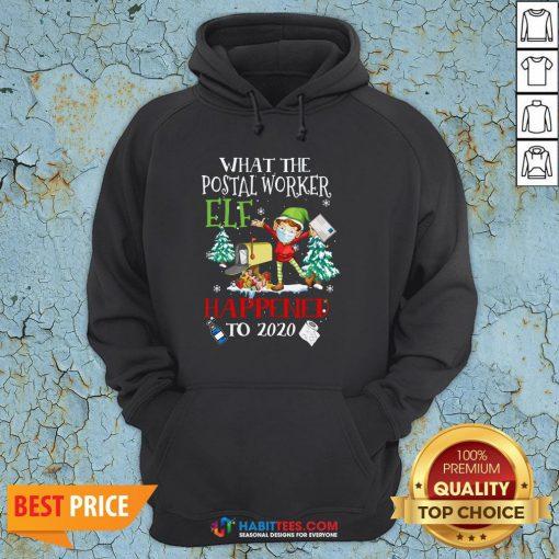 Vip What The Postal Worker Elf Happened To 2020 Toilet Paper Christmas Hoodie - Design By Habittees.com