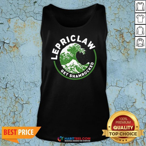 White Claw Hard Seltzer Lepriclaw Get Shamrocked Tank Top