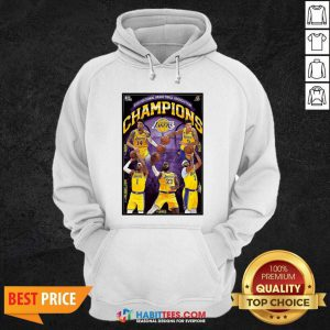 2020 National Basketball Association Champions Los Angeles Lakers Hoodie - Design by Habittees.com