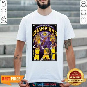 2020 National Basketball Association Champions Los Angeles Lakers Shirt - Design by Habittees.com