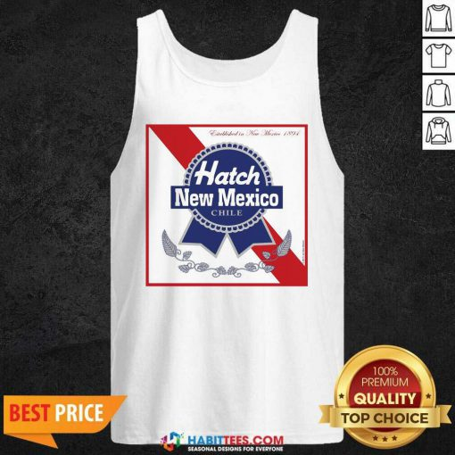 Awesome Hatch New Mexico Chile Tee Tank Top - Design by Habittees.com