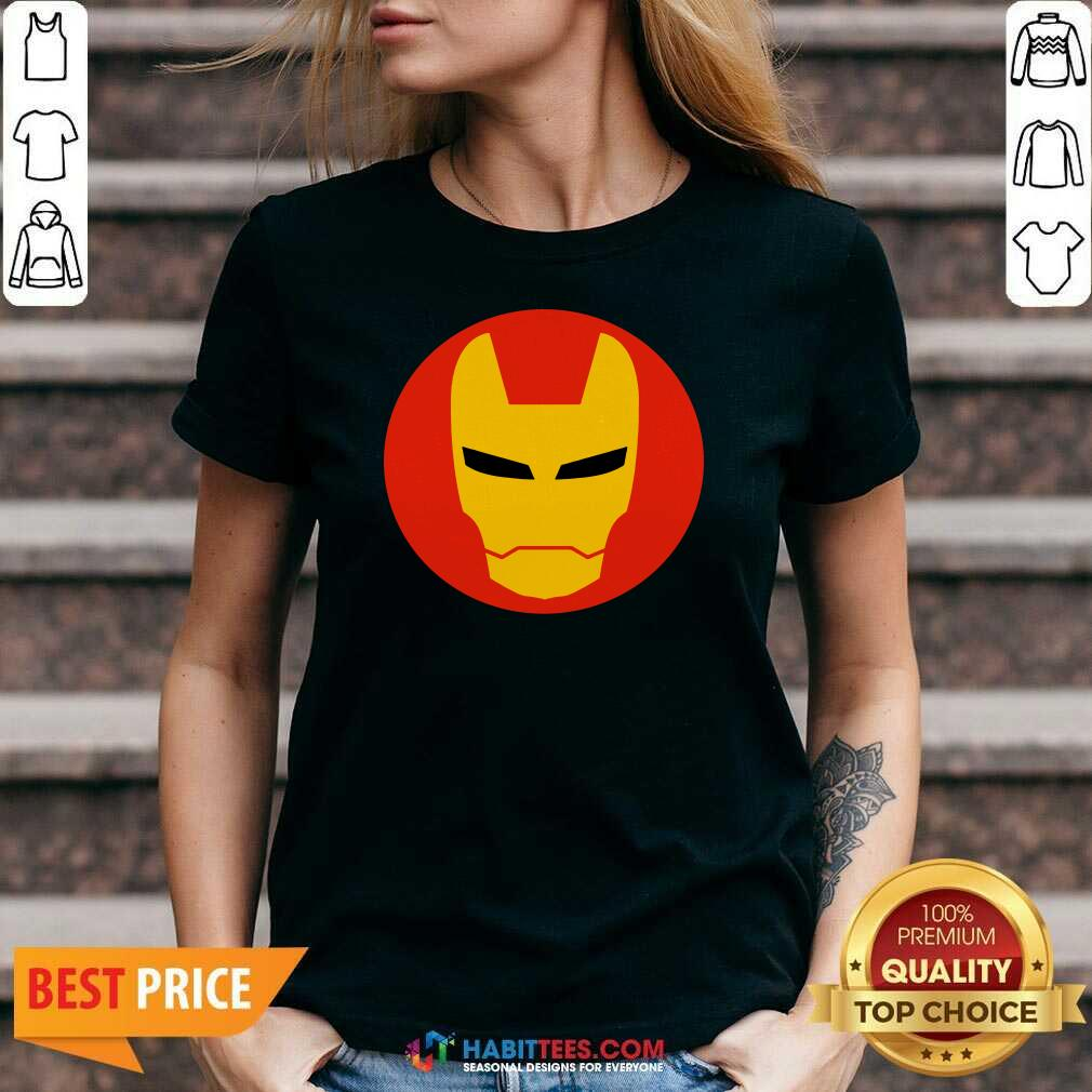 Awesome Iron Man 2020 V-neck - Design by Habittees.com
