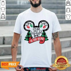 Awesome It Is The Most Wonderful Time Of The Year Christmas Shirt - Design by Habittees.com