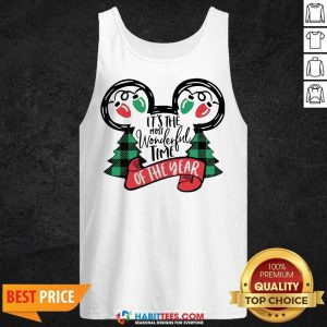 Awesome It Is The Most Wonderful Time Of The Year Christmas Tank Top - Design by Habittees.com - Design by Habittees.com