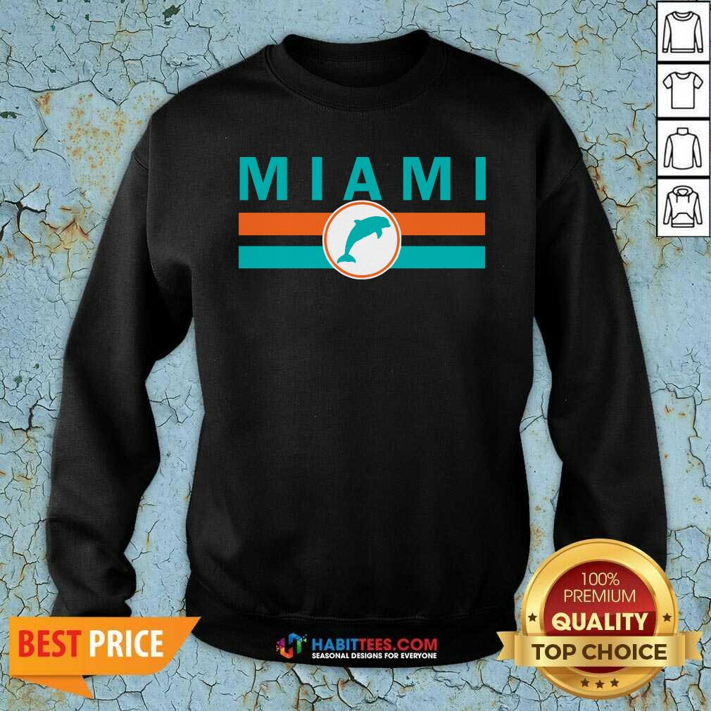 Awesome Mia Miami Sweatshirt - Design by Habittees.com
