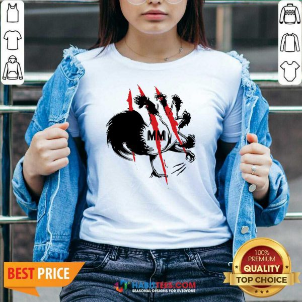 Awesome Mother Mother Merch Rooster V-neck- Design by Habittees.com