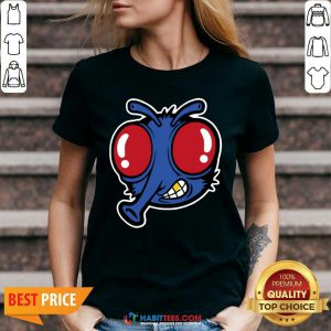 Awesome Royal Stoopid Fly V-neck - Design by Habittees.com