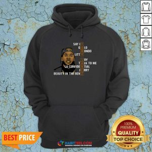 Awesome Tory Lanez Say It Gold Rondo Litty Luv Talk To Me Hoodie - Design by Habittees.com