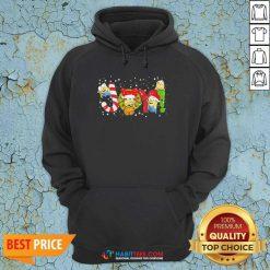 Funny Minion Joy Christmas Hoodie - Design by Habittees.com