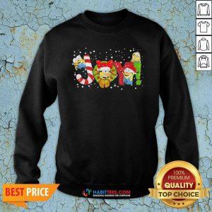 Funny Minion Joy Christmas Sweatshirt - Design by Habittees.com