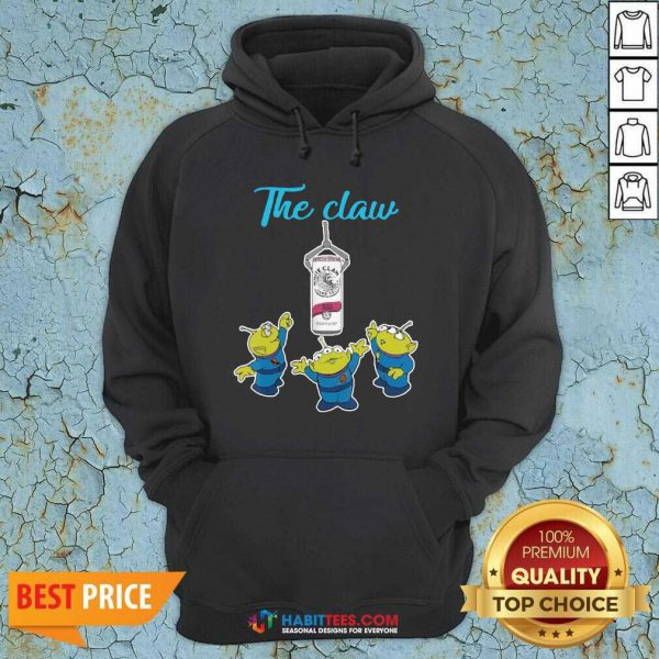 Funny The Claw Merry Christmas Hoodie - Design by Habittees.com