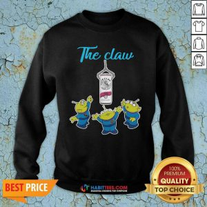 Funny The Claw Merry Christmas Sweatshirt - Design by Habittees.com