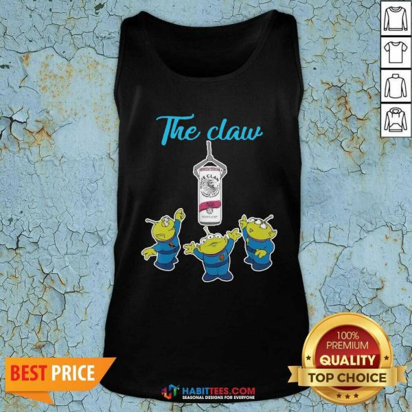 Funny The Claw Merry Christmas Tank Top - Design by Habittees.com