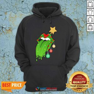 Funny The Rolling Stones Merry Christmas Hoodie - Design by Habittees.com