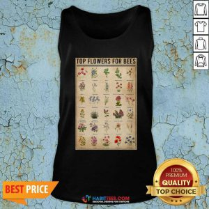 Funny Top Flowers For Bees Vintage Knowledge Tank Top - Design by Habittees.com