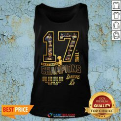 Nice 17 Time Nba Finals Champions Los Angeles Lakers 1949 1950 1952 1953 TAnk Top - Design by Habittees.com