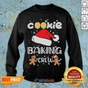 Nice Cookie Baking Crew Santa Christmas Sweatshirt - Design by Habittees.com