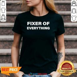 Nice Fixer Of Everything V-neck - Design by Habittees.com