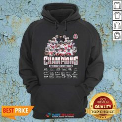 Nice Ohio State Buckeyes Football Champions 2020 Big Ten Hoodie - Design by Habittees.com