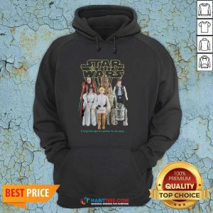 Nice Star Wars Good Guys Action Figures Hoodie- Design by Habittees.com