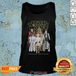 Nice Star Wars Good Guys Action Figures Tank Top- Design by Habittees.com
