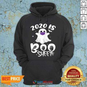 Official 2020 Is Boo Ghost Wear Mask Halloween Hoodie - Design by Habittees.com
