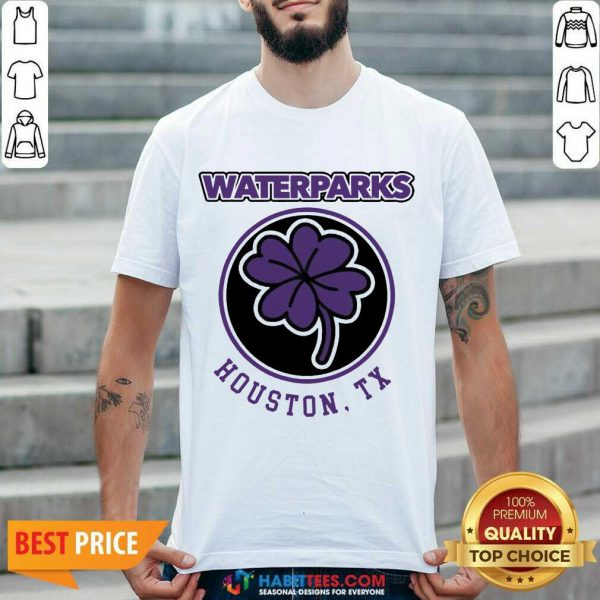 Official Clover Leaf Waterparks Houston Tx Shirt - Design by Habittees.com