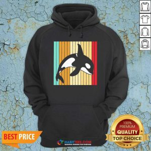 Official Orca Killer Whale Killer Whale Vintage Hoodie - Design by Habittees.com