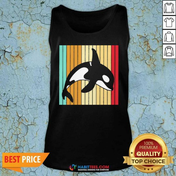 Official Orca Killer Whale Killer Whale Vintage Tank Top - Design by Habittees.com
