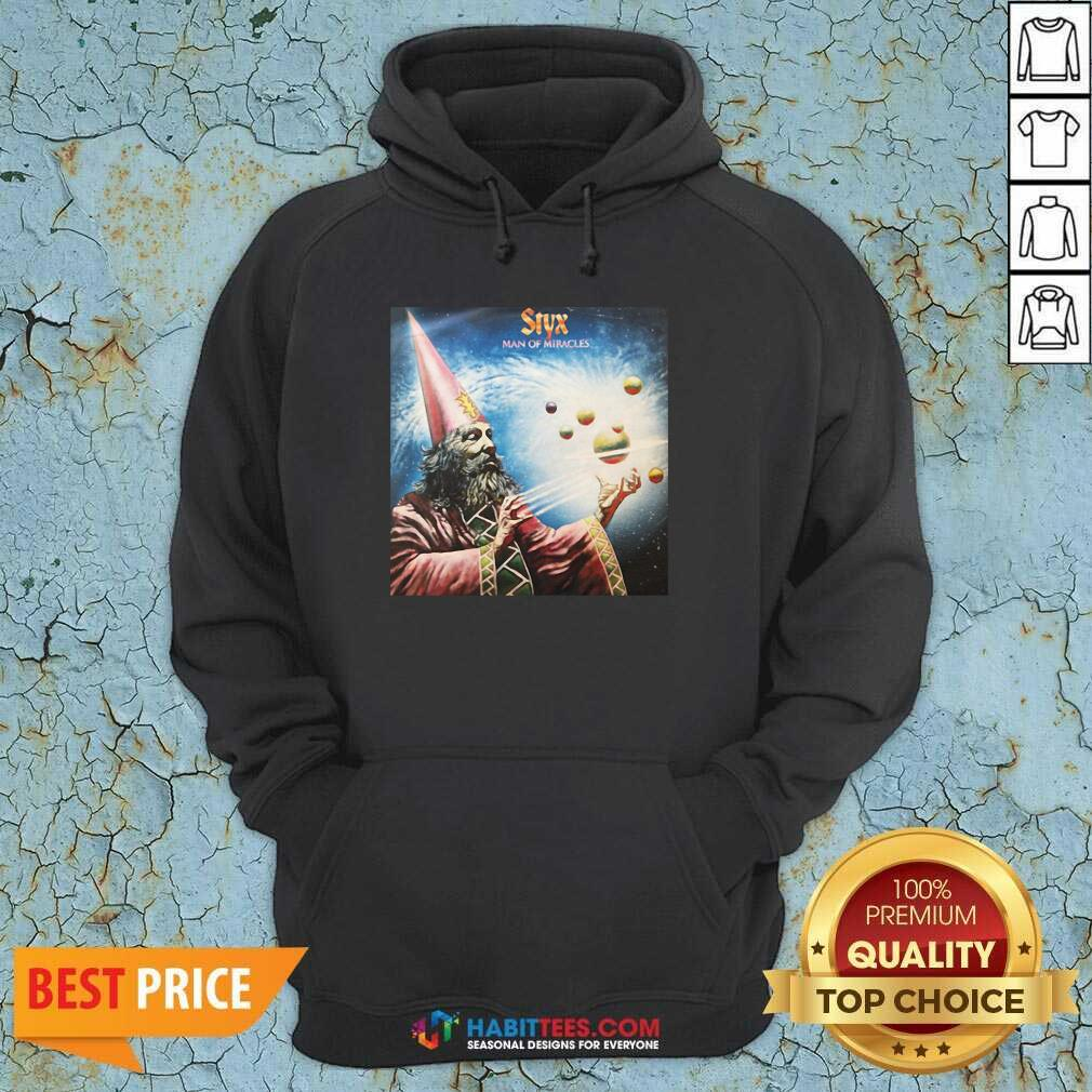 Official Styx Man Of Miracles Solar System Hoodie- Design by Habittees.com