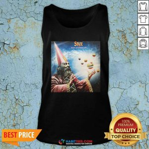 Official Styx Man Of Miracles Solar System Tank Top- Design by Habittees.com