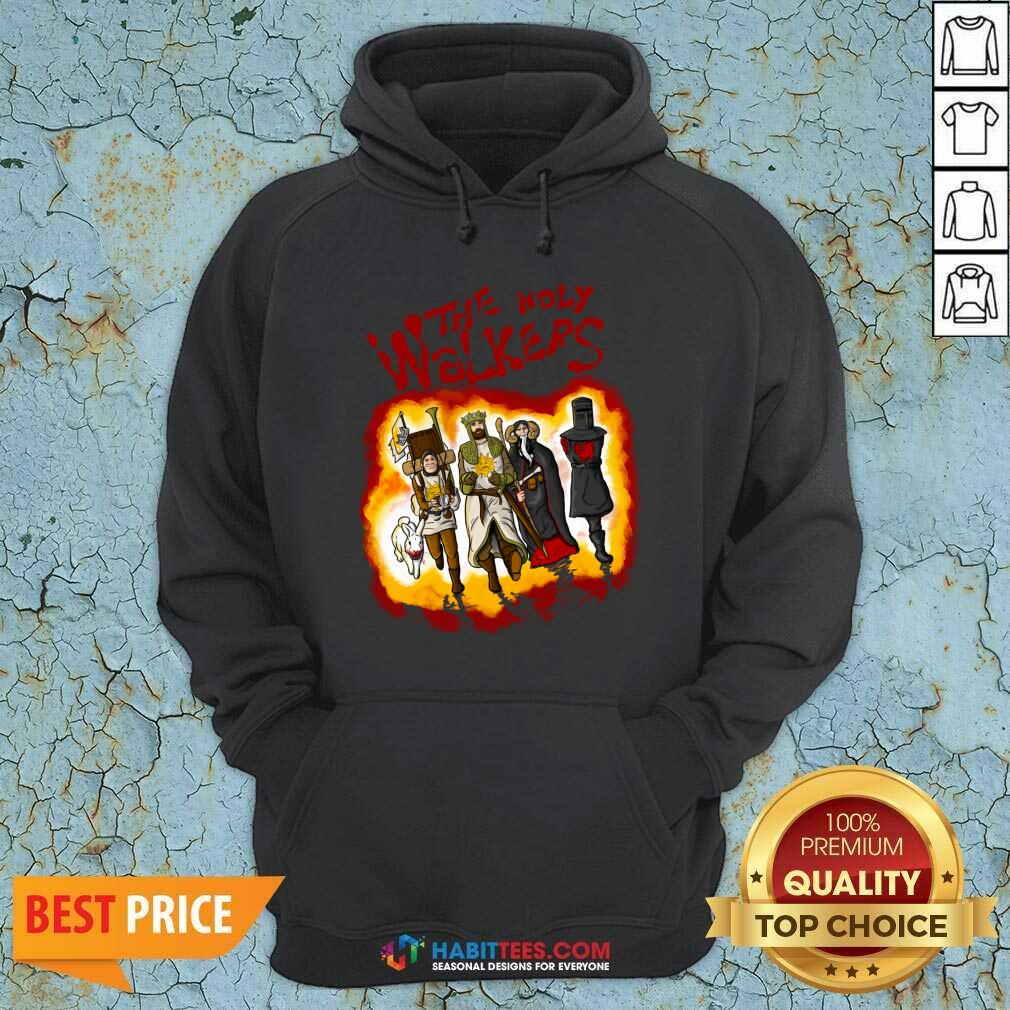 Official The Holy Walkers Hoodie - Design by Habittees.com